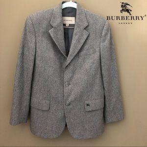 Boys Burberry Blazer Suit Jacket Wool